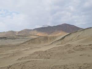 Cerro Mangón depuis le départ