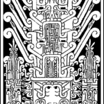 dessin reconstitution Stele Raimondi
