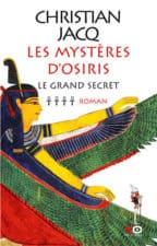 Christian Jacq – Les mystères d'Osiris