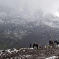 Montagnes et chevaux dans la région de Cuzco