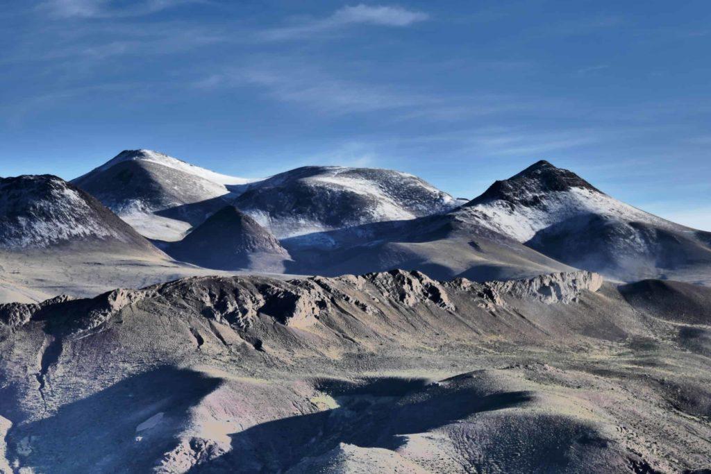 Montagnes près de Guadalupe, Bolivie