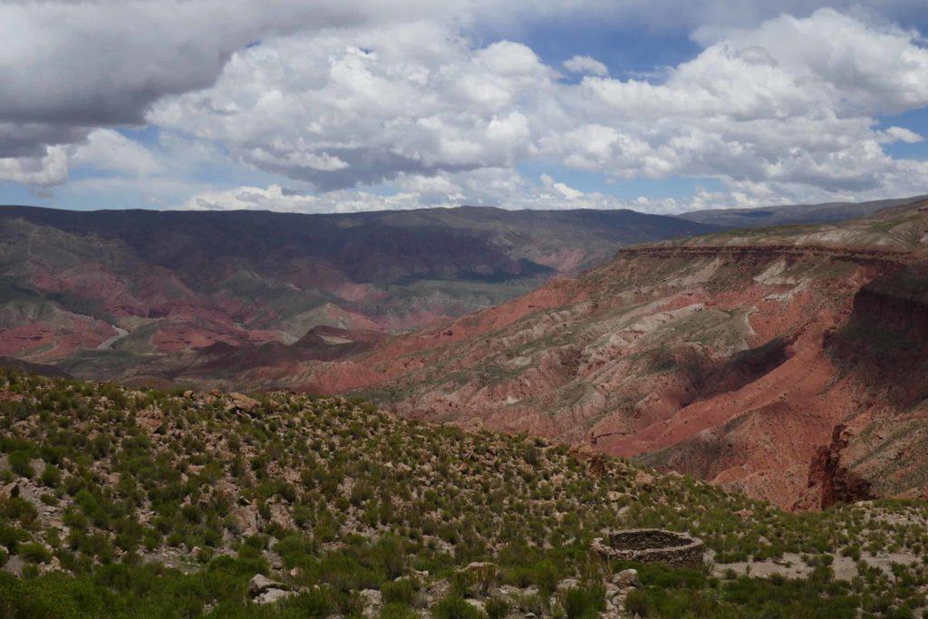 Vue depuis Quillacas Bolivie
