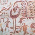 Guaviare El Raudal peintures rupestres Cerro Azul passage