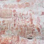 Guaviare El Raudal peintures rupestres Cerro Azul