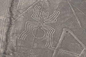 Nazca le géoglyphe de l'araignée