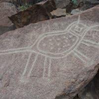 Le monde des pétroglyphes de Checta