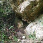 Des os sur le site Purumacho