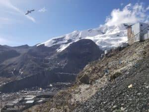 Rinconada Puno vue sur montagnes