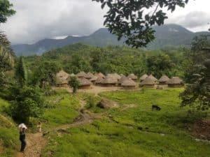 Un village kogi de la Sierra Nevada de Santa Marta