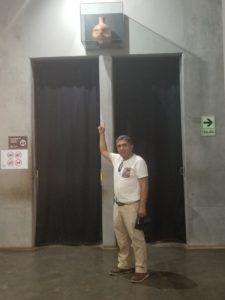 Juan Vilela Puelles et goulot de vase El Brujo