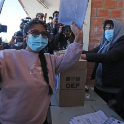 Eva Copa, le nouvel espoir d'El Alto