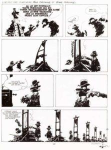 Franquin planche peine de mort