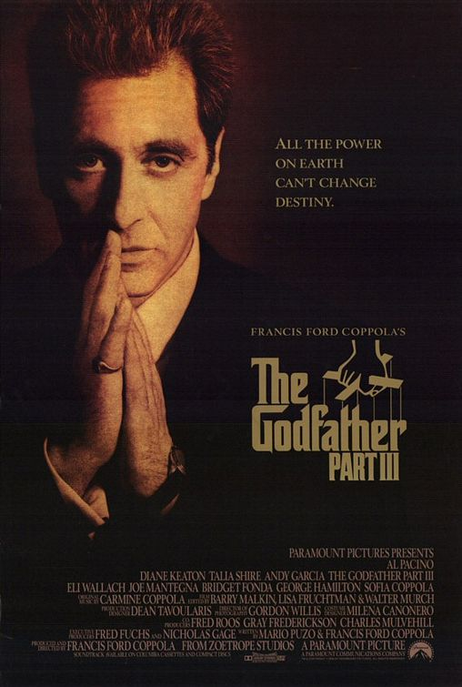 godfather part iii affiche