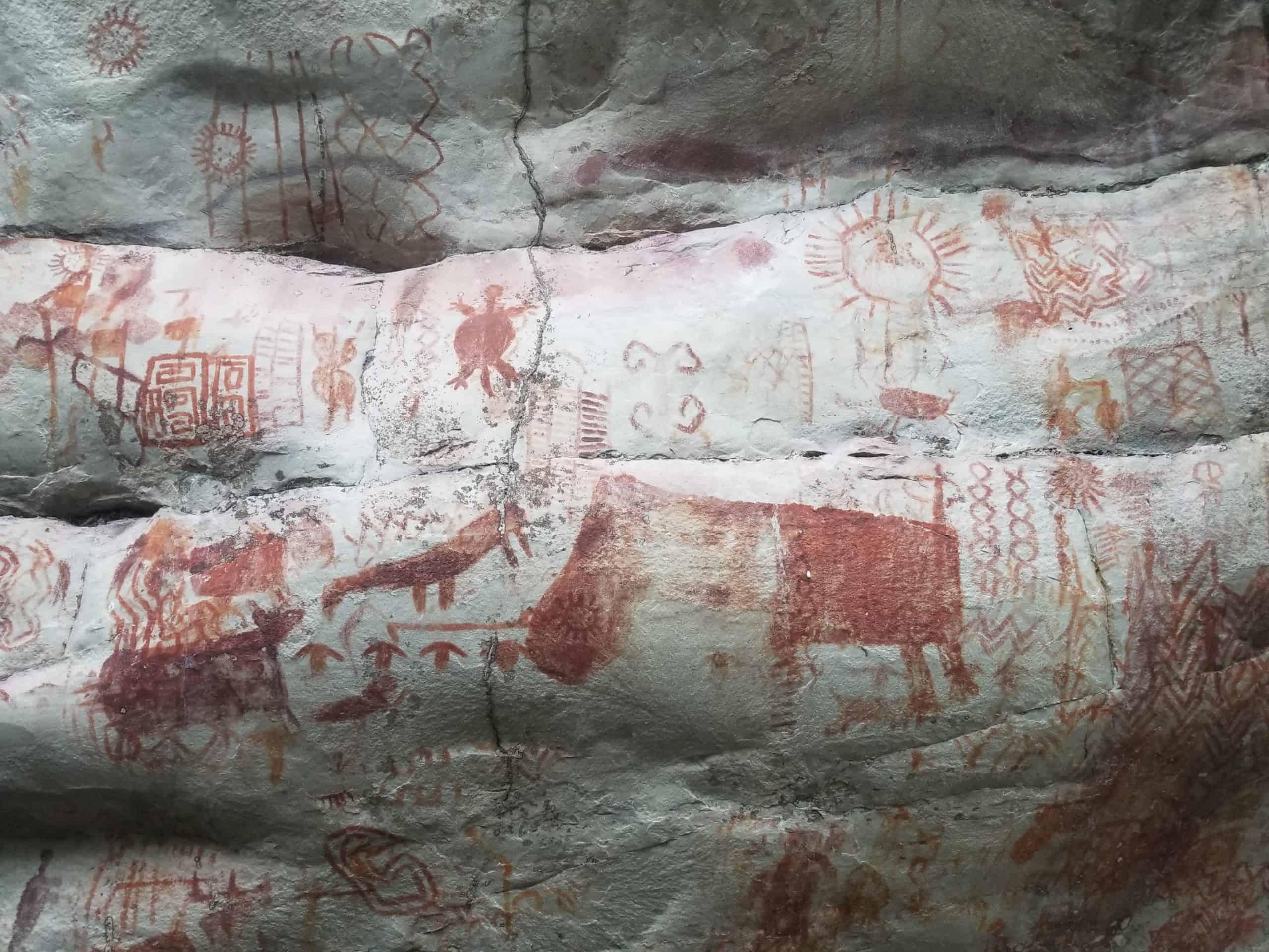 El Guaviare peintures rupestres