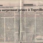 Le Républicain Togo article sur lost highway