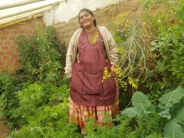 jardinière agriculture urbaine la paz