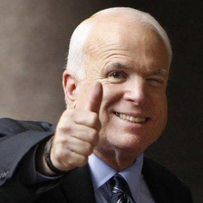 John McCain, the international relations expert