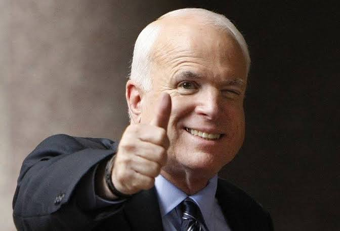 John McCain, the international relations expert