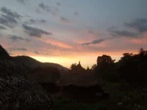 Village kogi de nuit