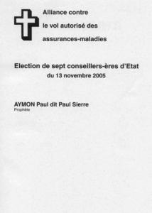Elections de l'exécutif genevois : Khalil Gibran ou Paul Aymon ?