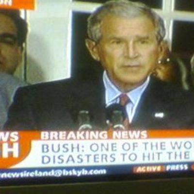 w. Bush disaster