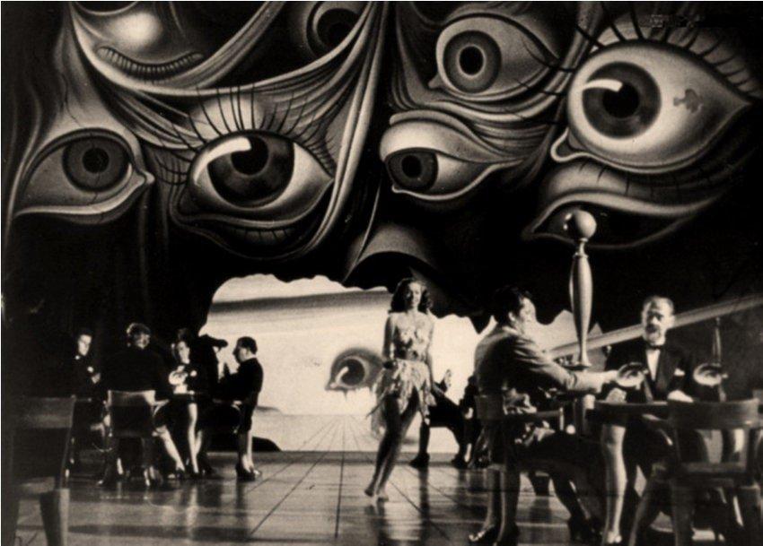 Image du film Spellbound d'Alfred Hitchkock