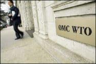 Plaquette WTO OMC