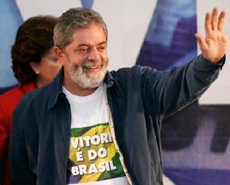 Lula président du Brésil
