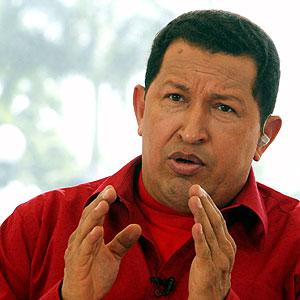 Chavez, président du Venezuela