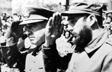 photo El Tiempo: Pinochet et Castro