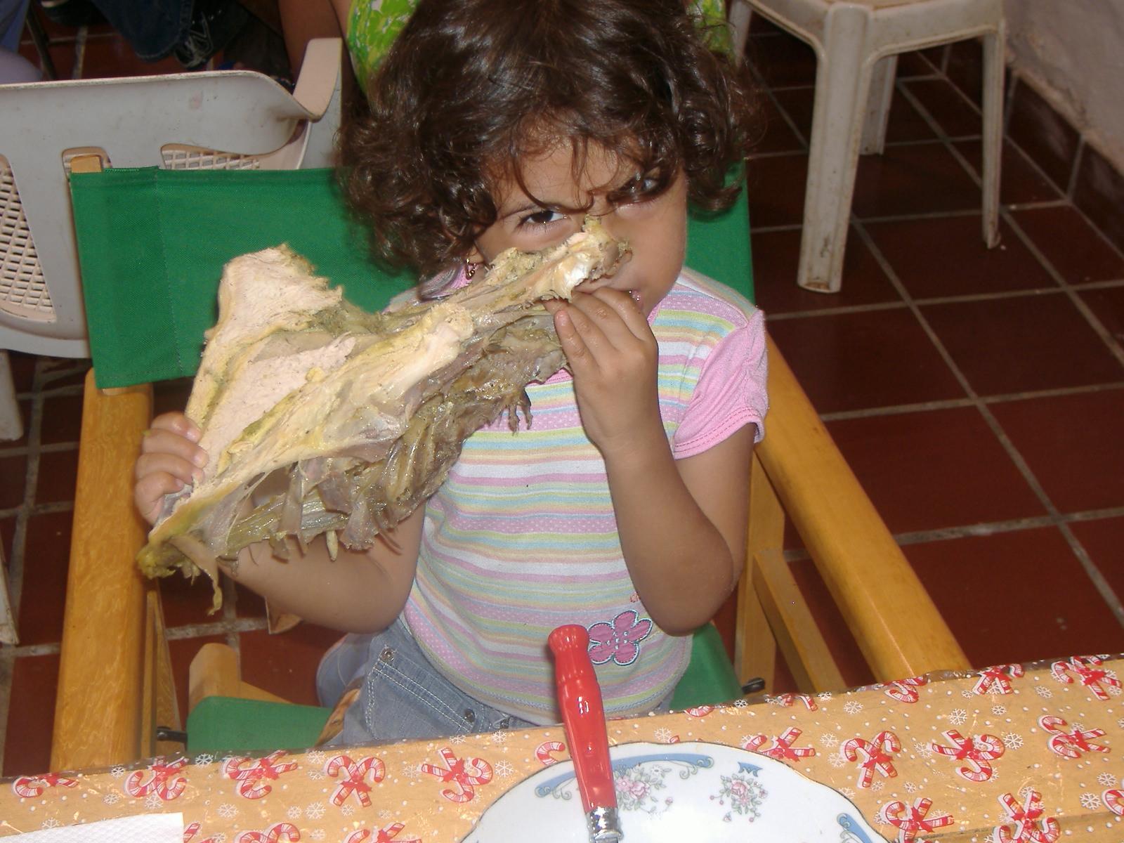 Valeria en action