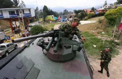 Bogotà¡ sous haute surveillance