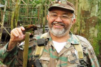 Raul Reyes, porte-paroles de FARC