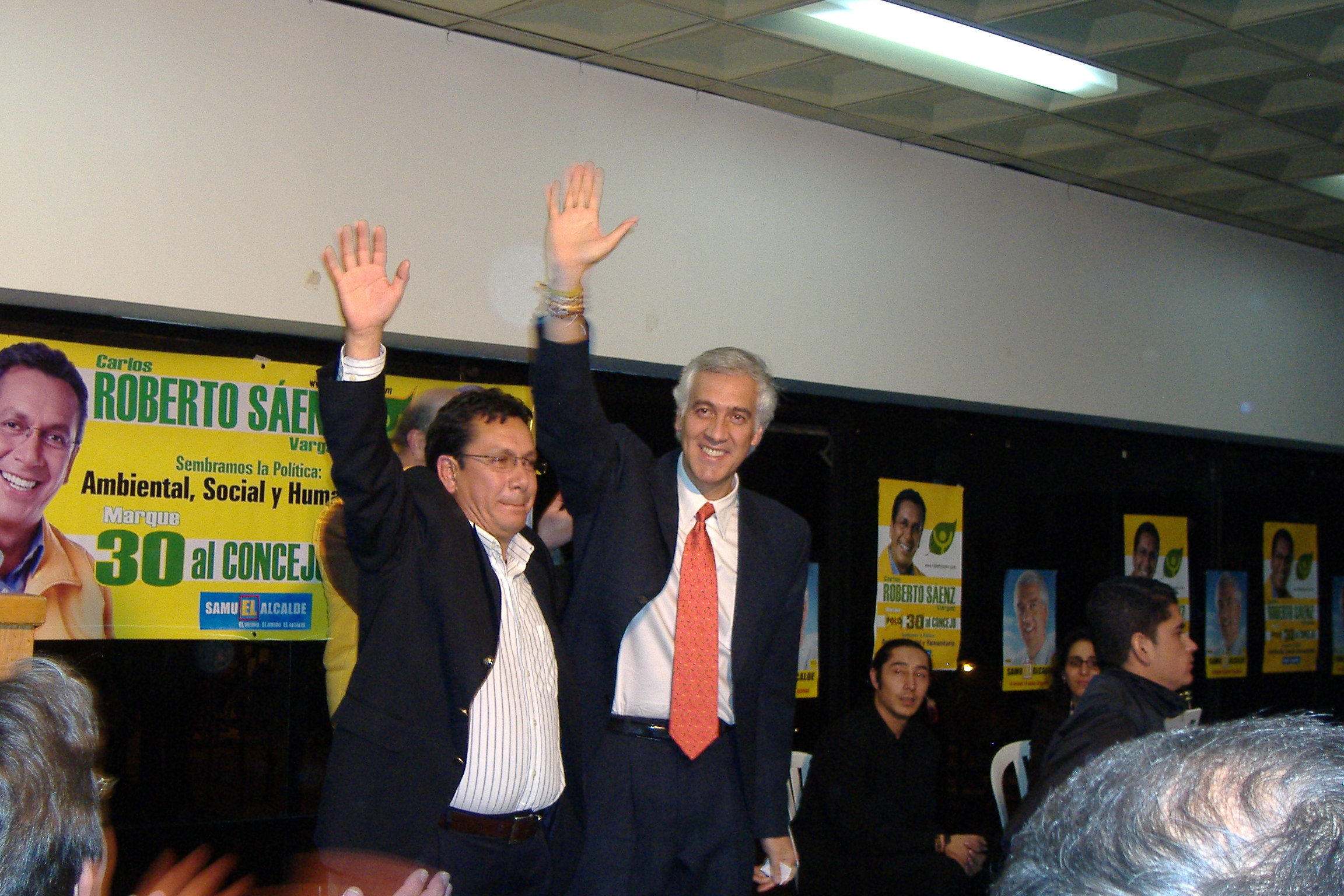 Roberto Sà¡enz et Samuel Moreno